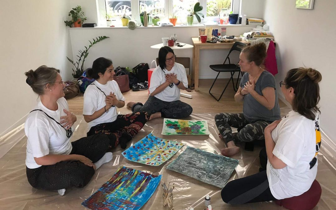 Releasing emotions through ART – Meditative Painting Workshop