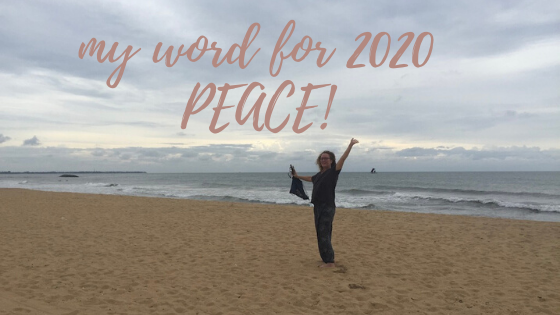 my word for 2020 peace